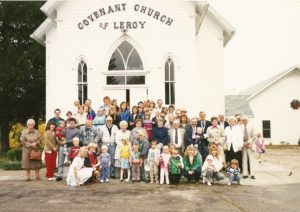 LeRoy Covenant Church early 1990s